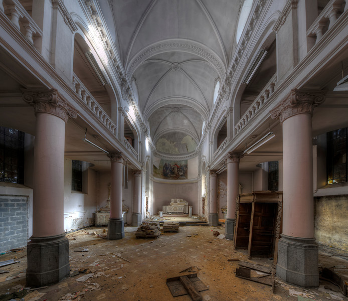 sanctum sanctorum - This chapel has been spared from demolition but for how long ?
