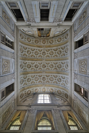 Marquee - The amazing view you have when looking up in this abandone villa