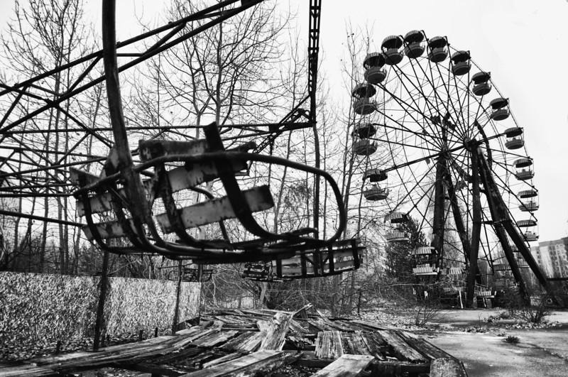 Pripyat Funfair - Chernobyl Exclusion Zone