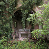Imputresco - Abandoned overgrown chapel on an early rainy morning