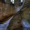 Thin Spiral - Spiral staircase inside an abandoned monastery. The stairs is in a very thin derelict state and it scared the crap out of me to walk up 3 levels.