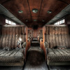 The Orient Express - One of the smoking cabins of this forgotten train.