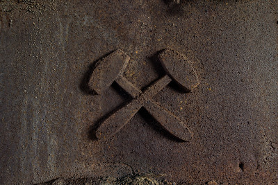 Hammertime - Close-up of a rusty forge in an abanded foundry