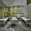Outbreak - Imagine shooting this room long after sunset in a former hospital while a huge thunderstorm roars outside.