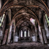 Evenescent Holiness, abandoned church