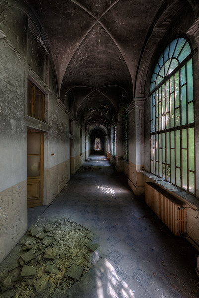 Batty Aisle - If only these walls could speak. What tales would they tell about the many patients who dwelled the corridors of this former insane asylum ?