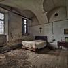 Teachers room - Bedroom in a forgotten little school