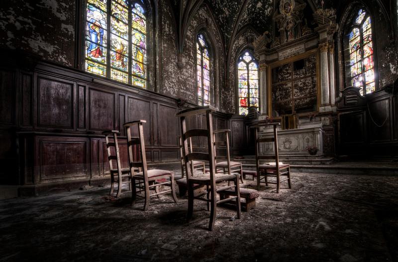 The Final Mass - Small abandoned church