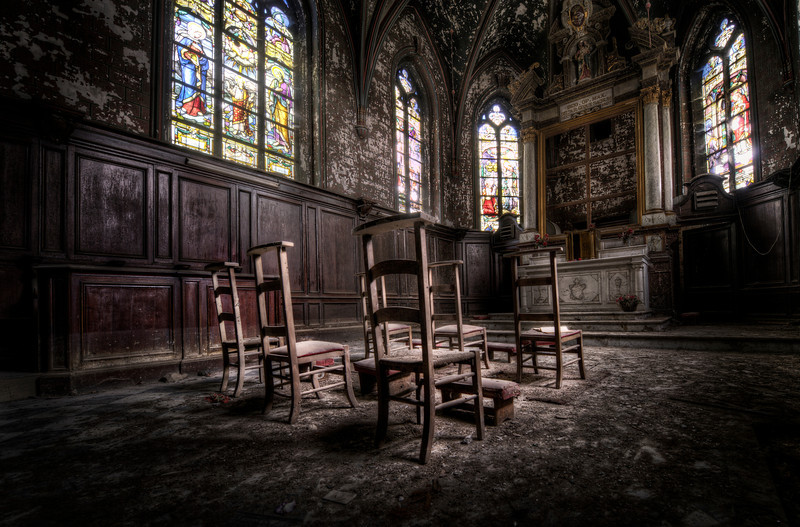 The Final Mass - Small abandoned church