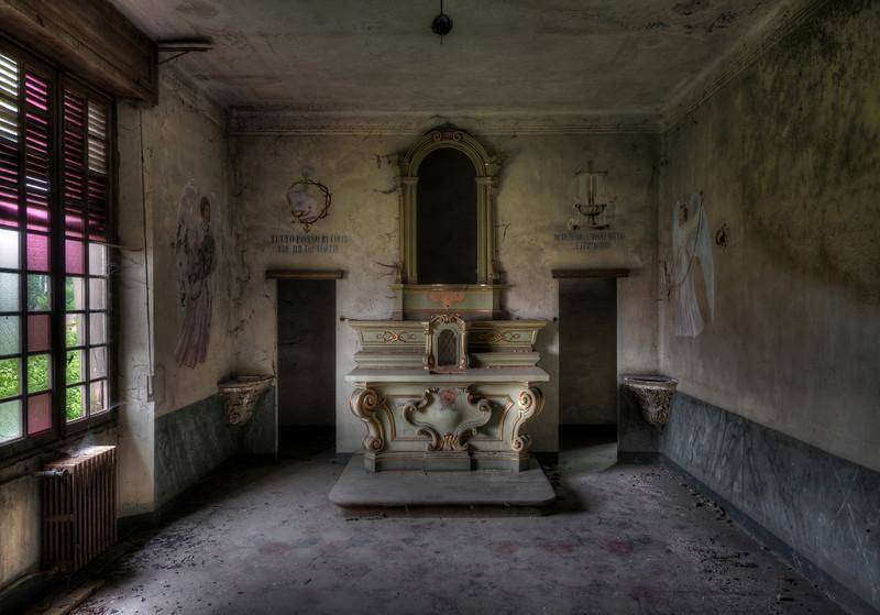 Little Faith - Small chapel inside a former Orphanage