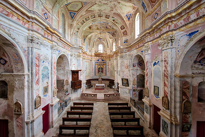 Arcus Pluvius - Colourful abandoned church in desperate need for funds to start renovations.