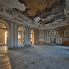 Ballroom Blitz - Warm morning light enter this ornate old castle ballroom