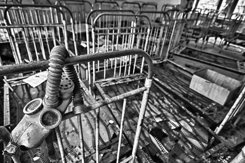 Kindergarten gasmask - Chernobyl Exclusion Zone 2010