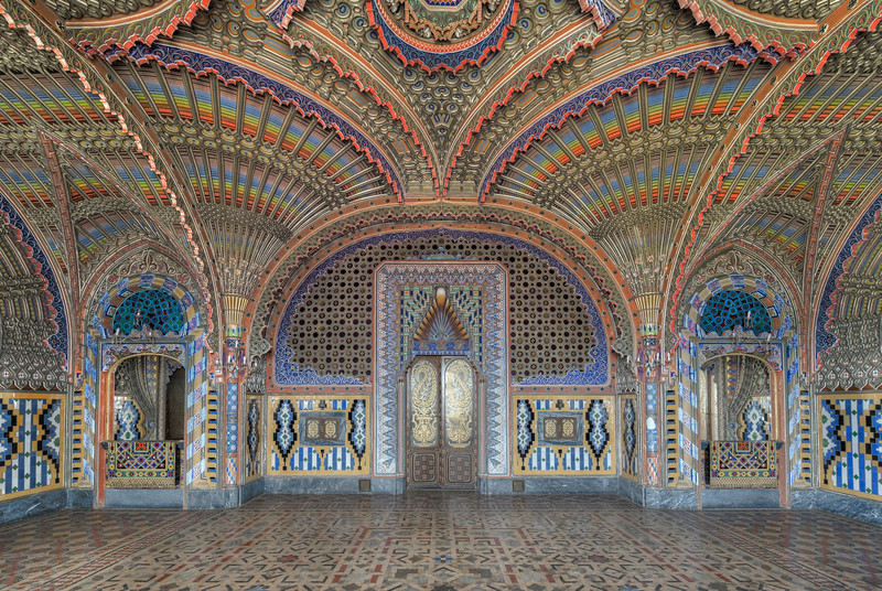 Peacock - And just when you thought the rooms in this abandoned castle could not get any extremer, you walk into this one...