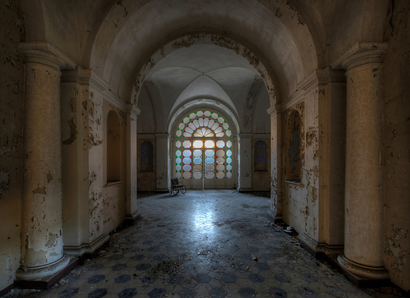 In the Mouth of Madness - Former psychiatric hospital