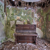 Green Symphony - There is not much left of this modern villa except for a forgotten piano in a very unhealthy room