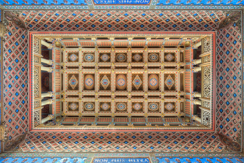 "The Sky is the Limit - Main hallway ceiling at ""Non Plus Ultra"" castle"
