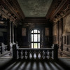 Majestic Woodwork - The grand staircase in this massive abandoned castle. The don't build 'm like this anymore...