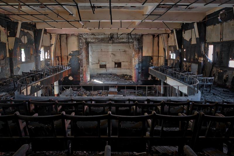 Cinema Inferno - Burned down cinema