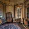The Reading Room - One of the many cool spots in this abandoned castle. This is one of the tower rooms.