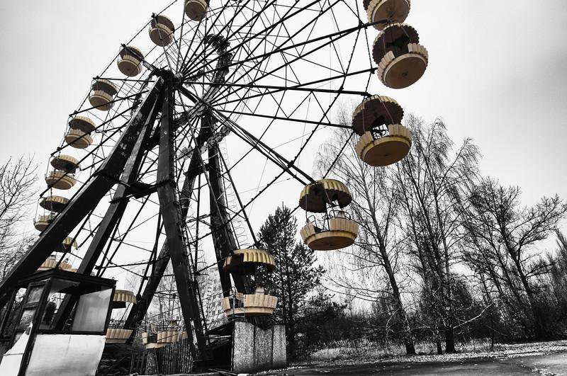 Ferris Wheel in Pripyat, Chernobyl Exclusion Zone 2010