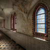Path of Faith - One of the many hallways inside this abandoned monastery