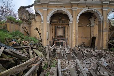 Impius - Crumbling church, far beyond repair.