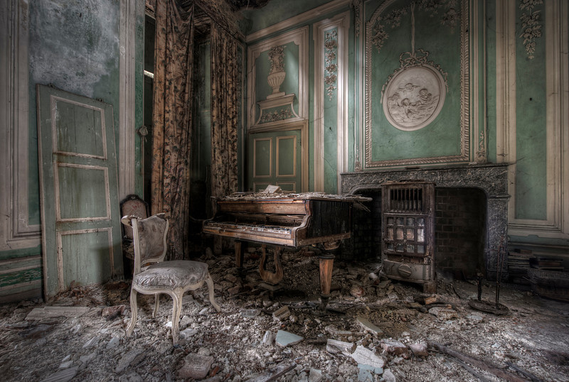 Decadence in Decay - These spots are the best, lots of decay and everything left behind. Urbex gold !