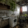 What's cookin' ? - This former hotel has so many cool overgrown rooms, I could spend days here. Some areas are becoming very unstable but I still managed to get in and out unharmed.