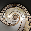 The Eye - We drove a 1000km just to take this shot of a spiral staircase in an old Templar Knight farm. It was sooo worth it.