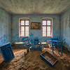 Desert House - Strange looking room in an abandoned house.