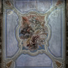 Clash - Painted ceiling in an abandoned villa