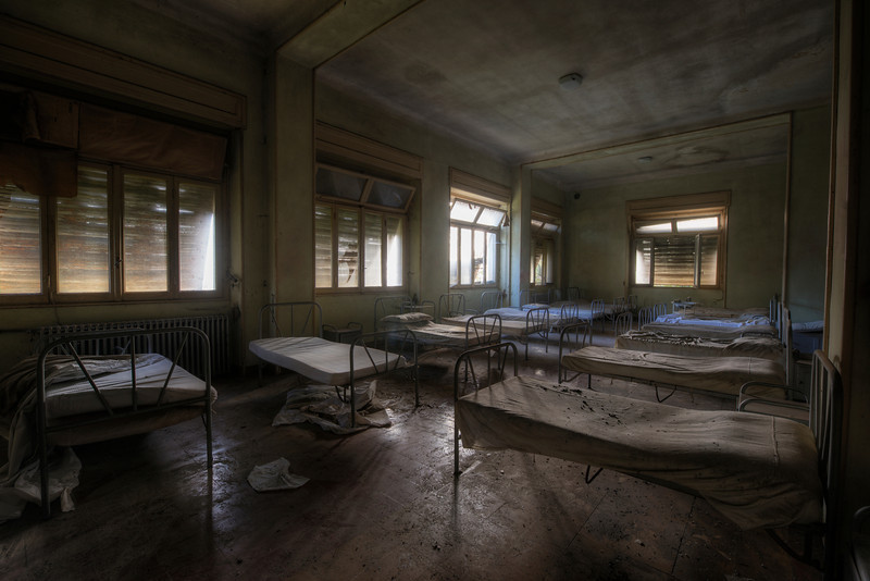 When I wake up in the morning I look around and something's just not there<br /> No mommy … No daddy to wake me up. It really isn't fair<br /> <br /> -Shot in an abandoned orphanage