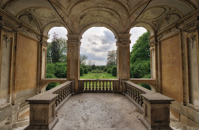 Patio - One of the highlights from the last trip. A beautiful abandoned villa with a great garden view terrace.
