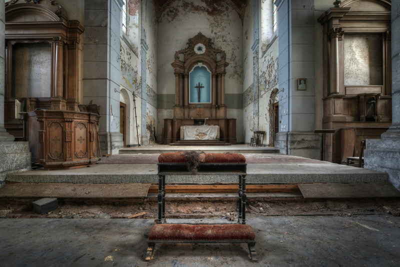 Prayer for the Dying - Derelict church without vandalism