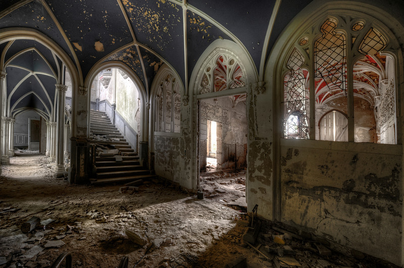 Shattered Fairytales - The ruins of Chateau de Noisy
