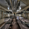 Train Ward - A complete hospital ward inside an abandoned train