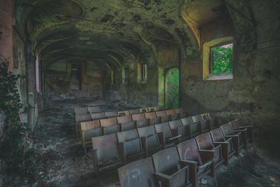 Teatro abbandonato
