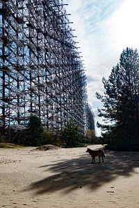 The Duga-3 long range radar, near Chernobyl