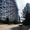 The Duga-1 long range radar, near Chernobyl