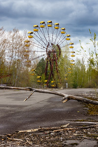 Ferris wheel in Pripyat, Chernobyl