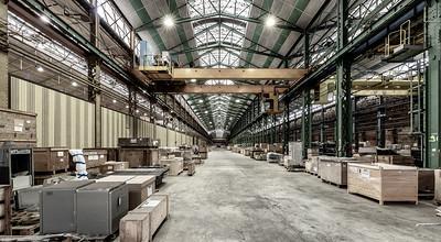 les bâtiments de fer