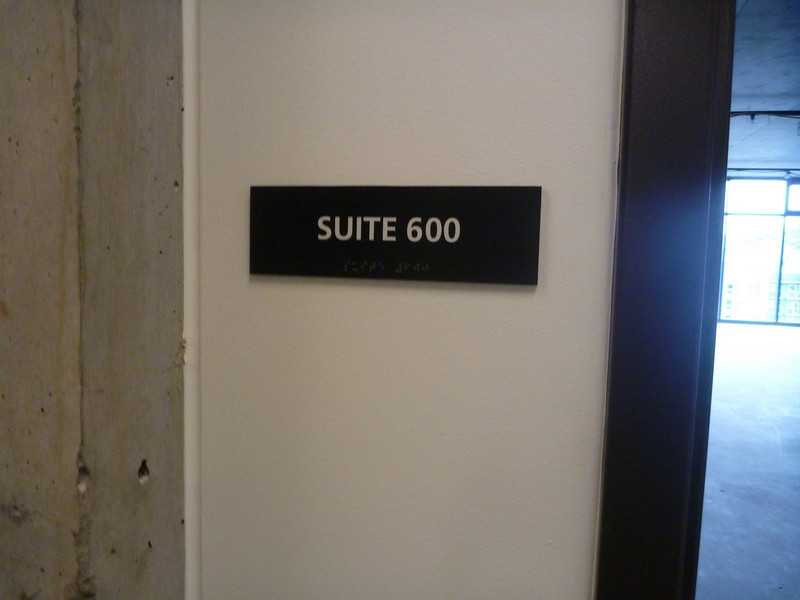 Suite 600 is still for sale...