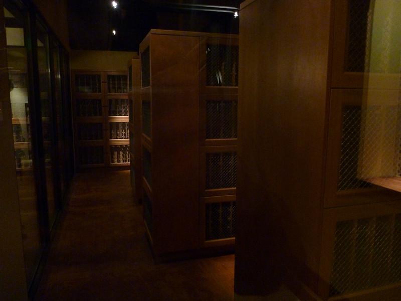 Wine storage units are $240/year.
