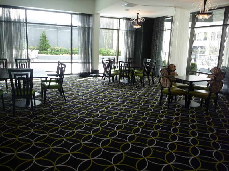 Club dining room space