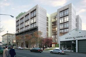 Packard Building rendering