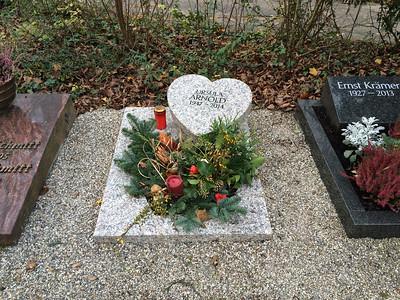 Urnengrabstätte Granit