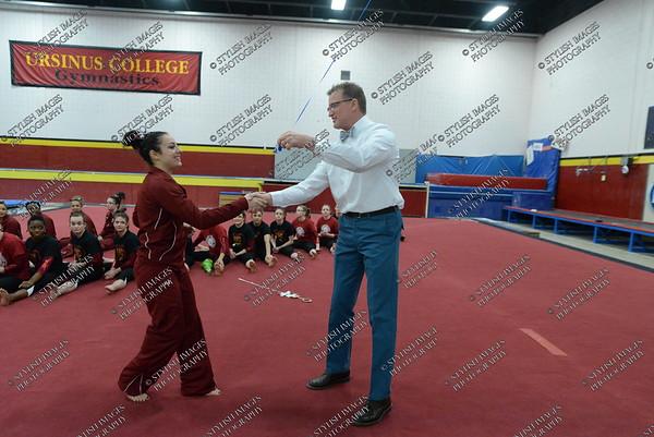 Ursinus Gymnastics v Temple University