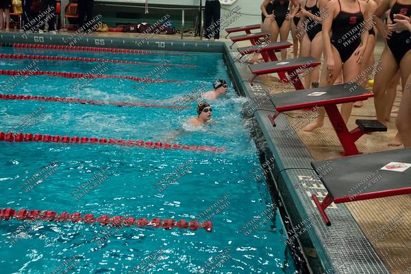 Men's and Women's Swimming