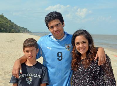 Santiago, Sebastian and Victoria
